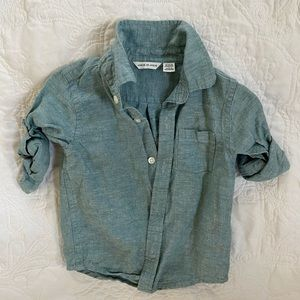 Janie and Jack chambray linen